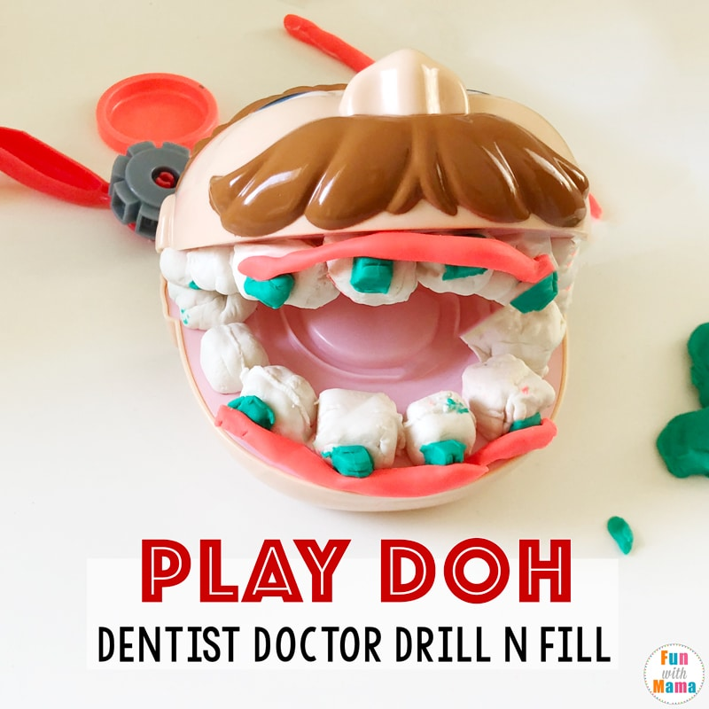 play doh dentist drill and fill toy review fun with mama. Black Bedroom Furniture Sets. Home Design Ideas
