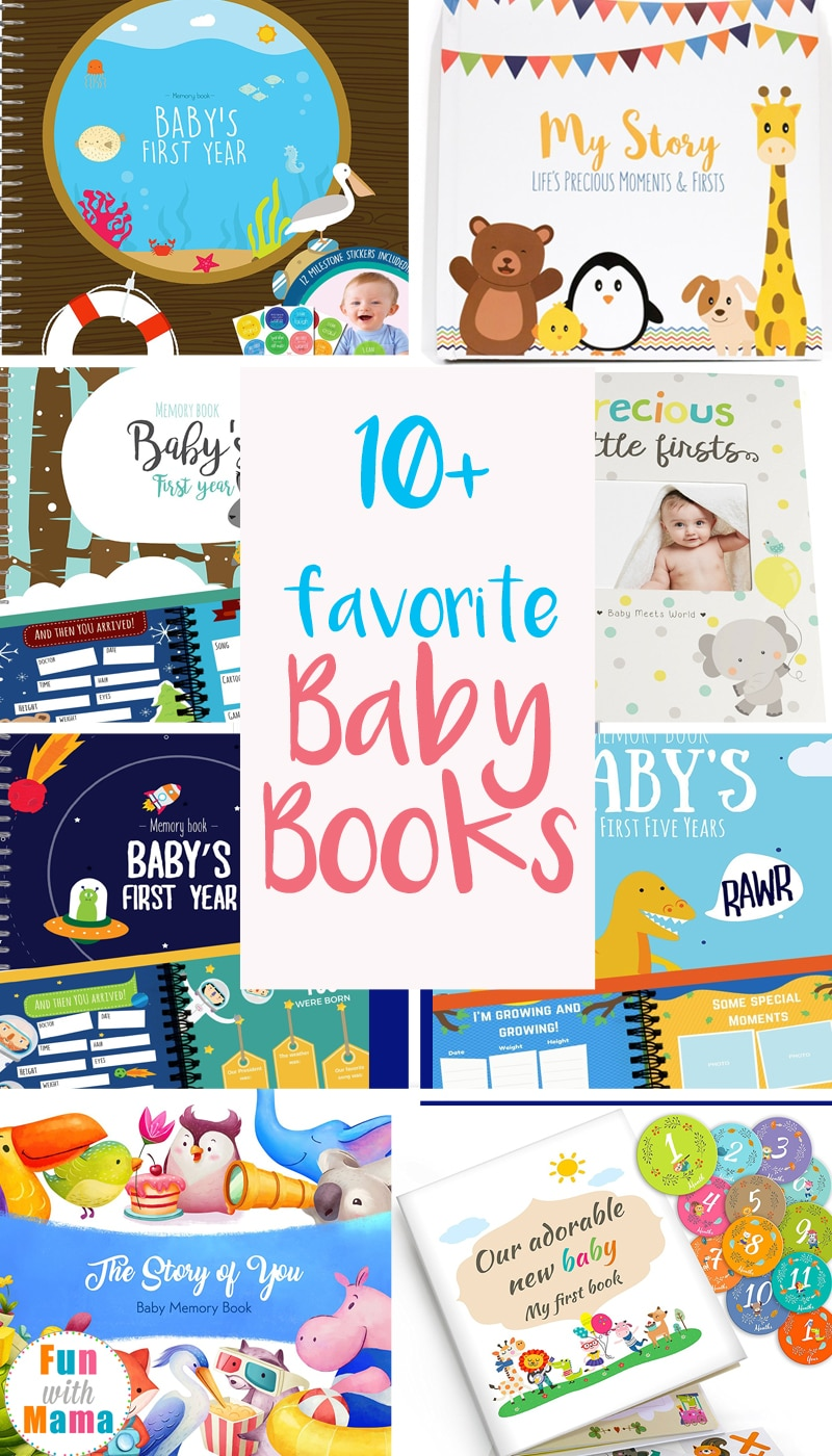 baby memory books and baby books for boys and girls