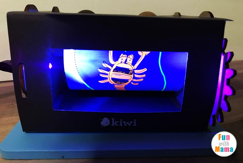 Kiwi Crate Review: Exploring Ultra Violet Light