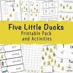 Five Little Ducks Song Activities