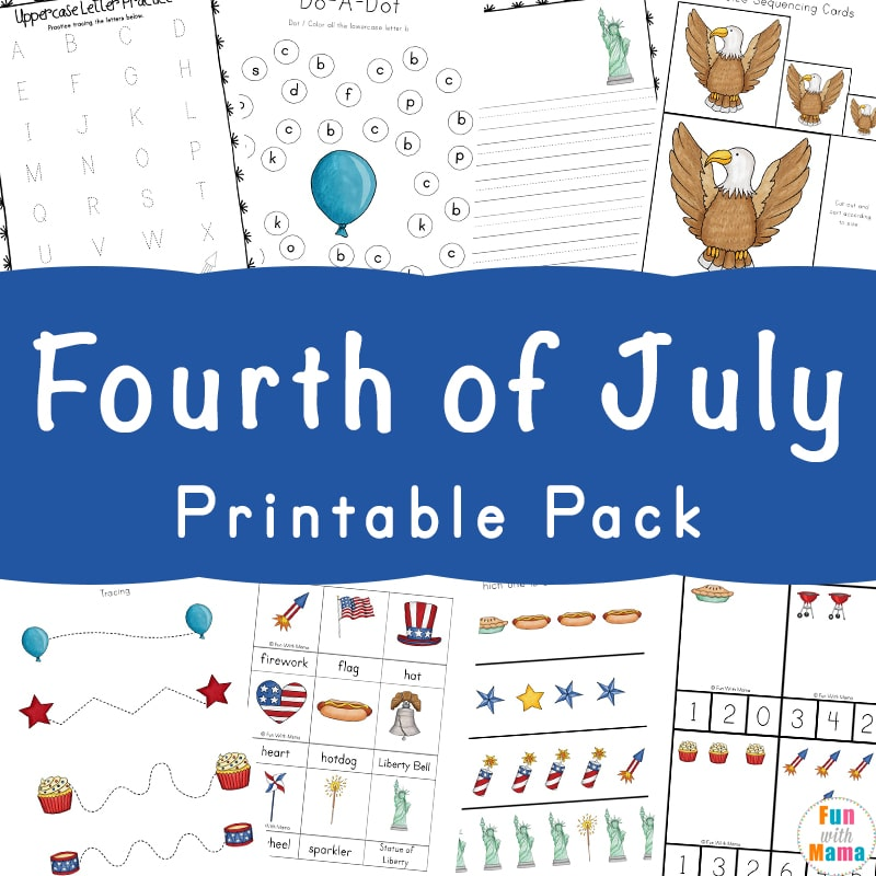 May The Fourth Be With You School Activities: 4th Of July Preschool Activities