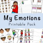 Feelings Activities + Emotions Worksheets For Kids