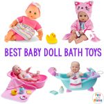 Baby Doll Bath Toys For Toddlers + JC Toys La Newborn