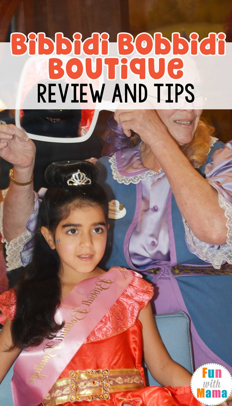 Bibbidi Bobbidi Boutique Review Helpful Tips Fun With Mama