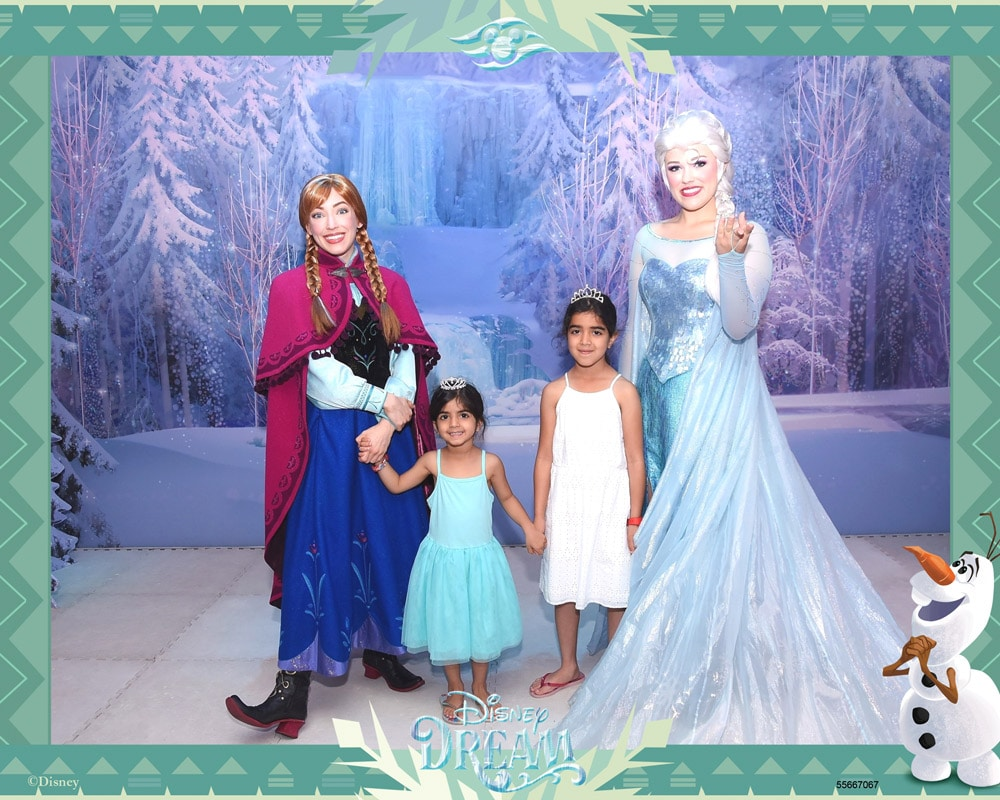 Disney Cruise Frozen Meet and greet