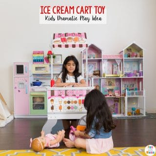 Melissa and Doug Ice Cream Cart Toy