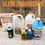 Slime Ingredients