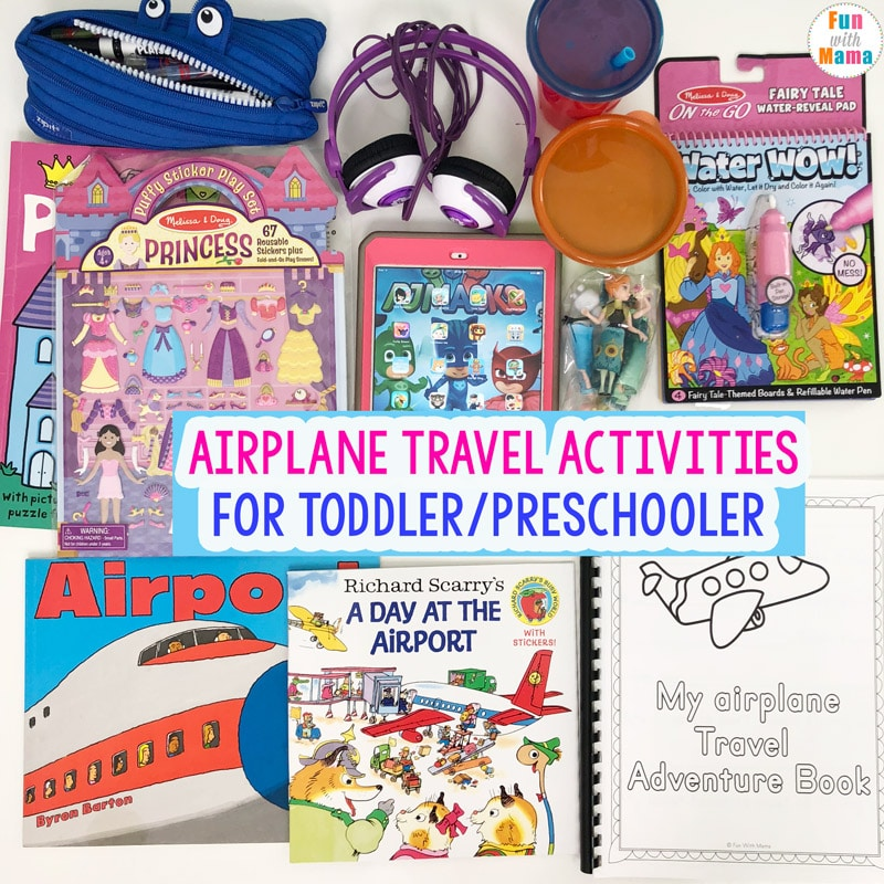 travel with kids carry on luggage