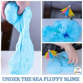 Fluffy Slime Recipe