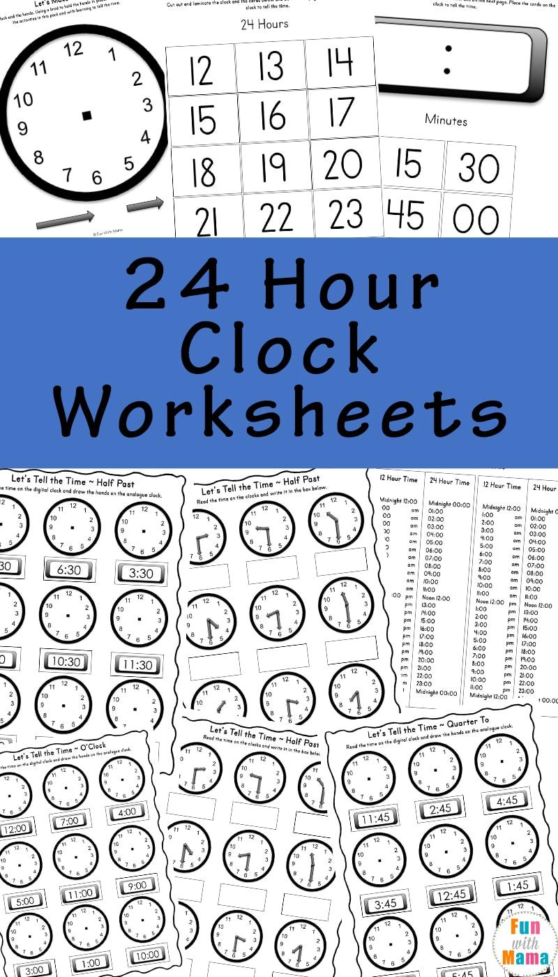 Telling time worksheets ibookread Read Online