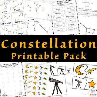 Constellations For Kids Activities