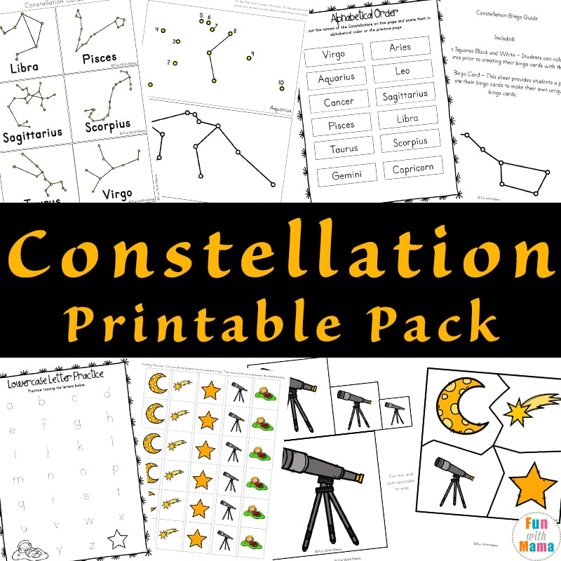 star constellations for kids