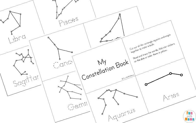 Satisfactory image throughout printable constellations