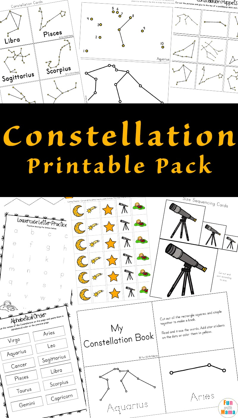 It's just a picture of Eloquent Constellation Patterns Printable