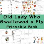 Old Lady Who Swallowed A Fly Activities