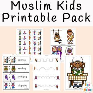 Ramadan Activities Muslim Kids