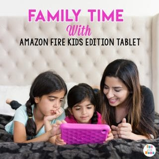 Amazon Fire Kids Edition Tablet Family Time Activities