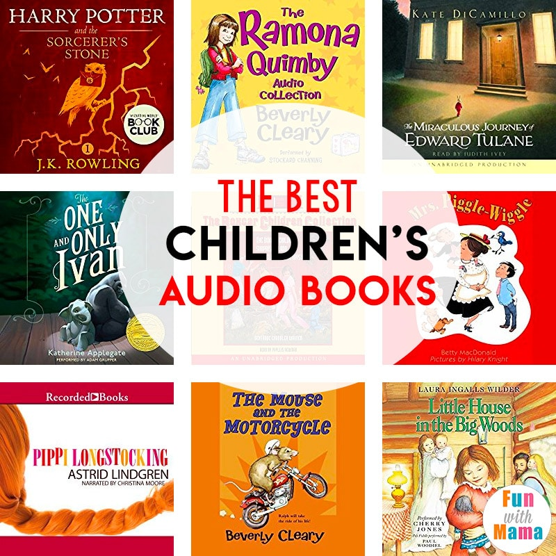 children's audio books