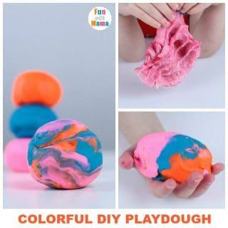 Cooked Playdough Recipe