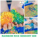 Rainbow Rice + Coloured Rice