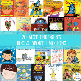 20 Books About Feelings For Kids
