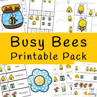 Bumble Bees Activities