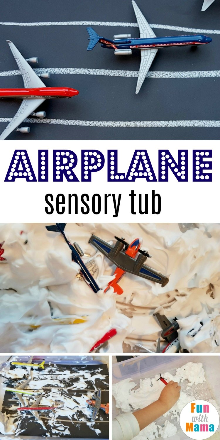 airplane sensory tub pinterest final