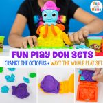 New Play Doh Sets – Cranky The Octopus + Wavy The Whale Playset