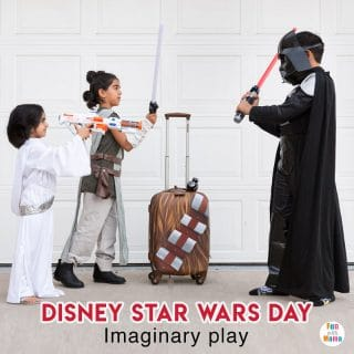 Disney Star Wars Day Invitation To Play