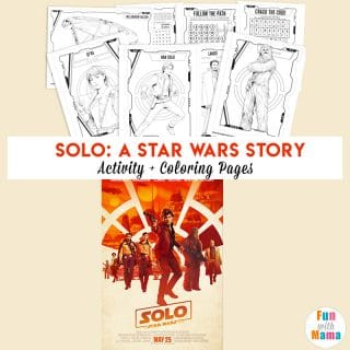 Han Solo Film + Star Wars Coloring Pages