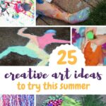 Art + Summer Activities For Kids