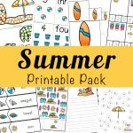 Printable Summer Kids Activities