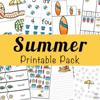 Printable Summer Kids Activities