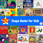 20 Shape Books for Kids