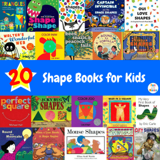 20 Shape Books for Kids