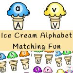 Ice Cream Alphabet Matching Fun