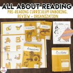 All About Reading Pre Reading Review + Unboxing