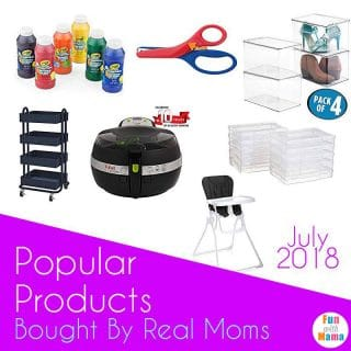 Popular Products in July 2018