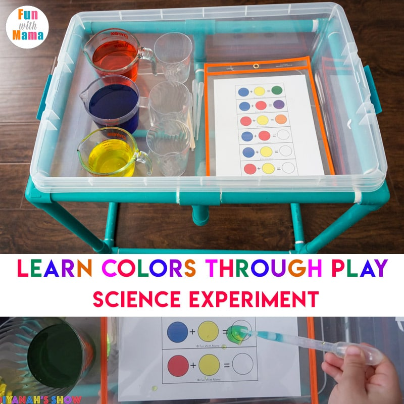colors science experiment