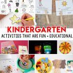 FUN Kindergarten Activities