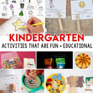 FUN Kindergarten Activities