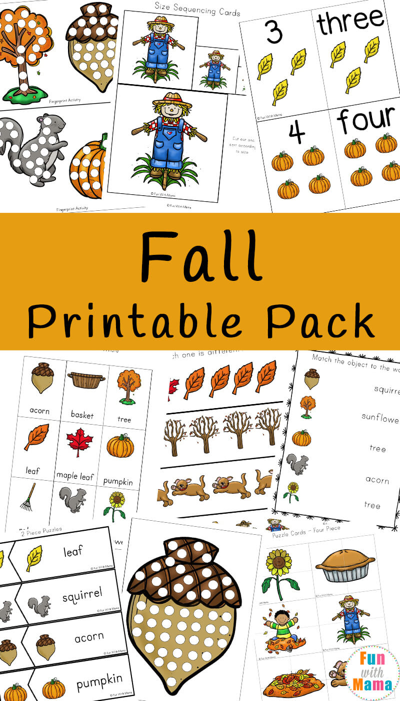 - Fall Theme Activities For Kids - Fun With Mama