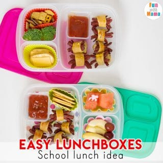 Halloween School Lunch Ideas