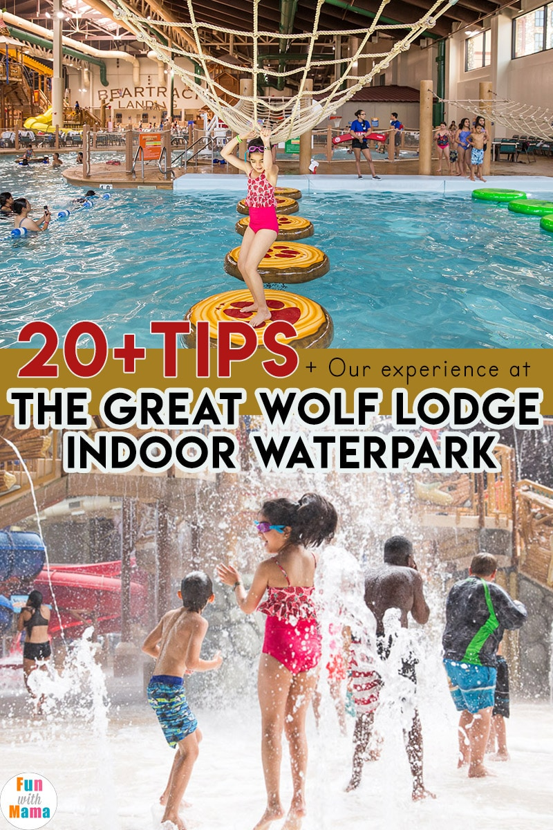 Great Wolf Lodge tips tricks and things to know when visiting the indoor waterpark.