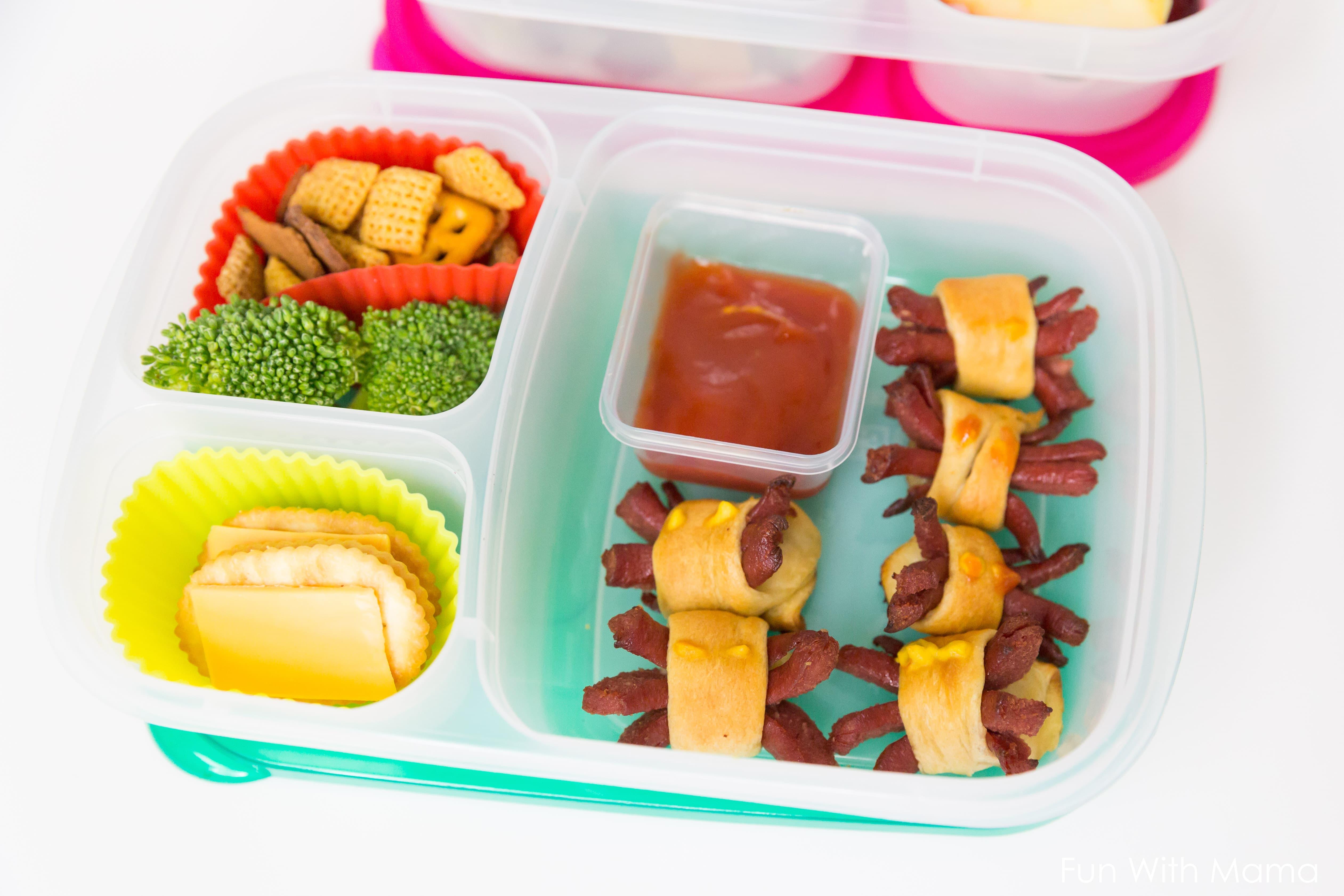 halloween school lunch ideas