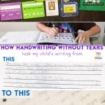 Handwriting Without Tears Review + Workshop!