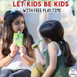 Let Kids Be Kids With Free Play Time #BEtime