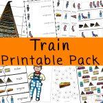 Train Printables