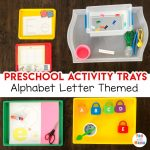 Play Trays – Preschool Activity Trays