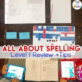 All About Spelling Level 1 Review